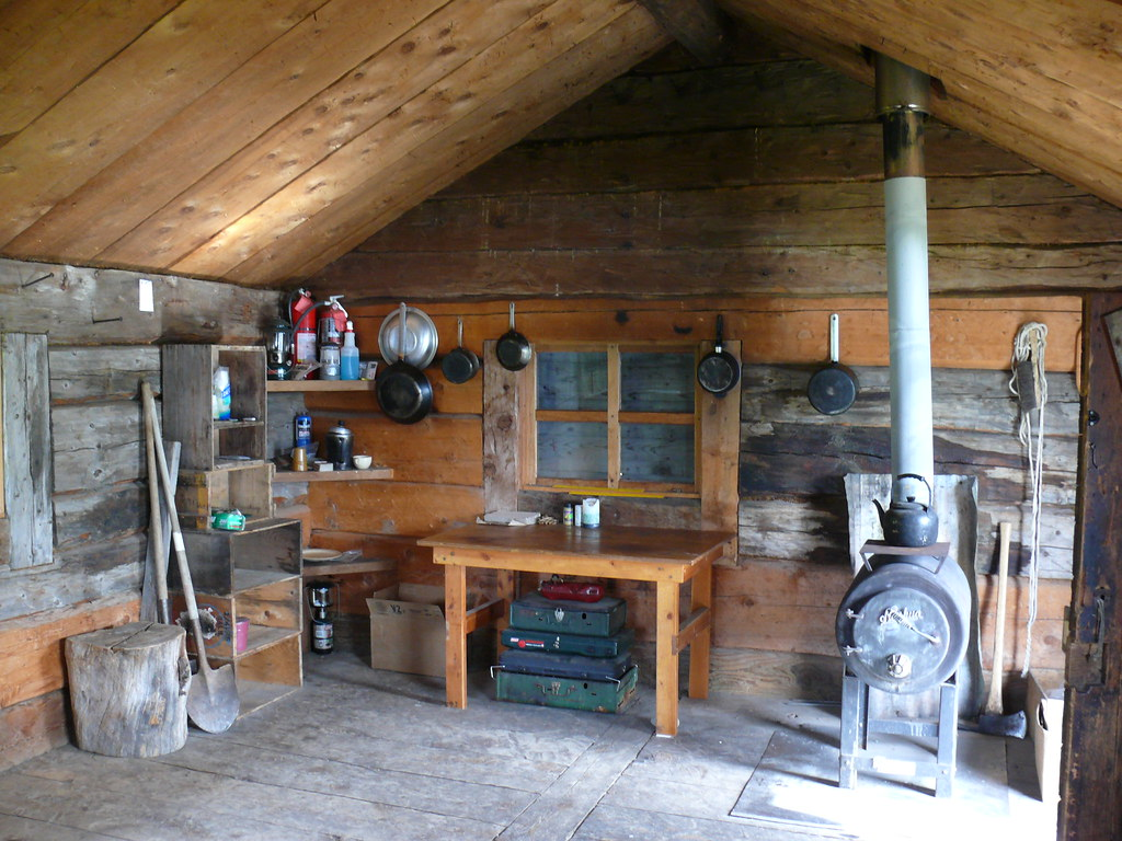 Fure's Cabin interior | Katmai National Park and Preserve ...