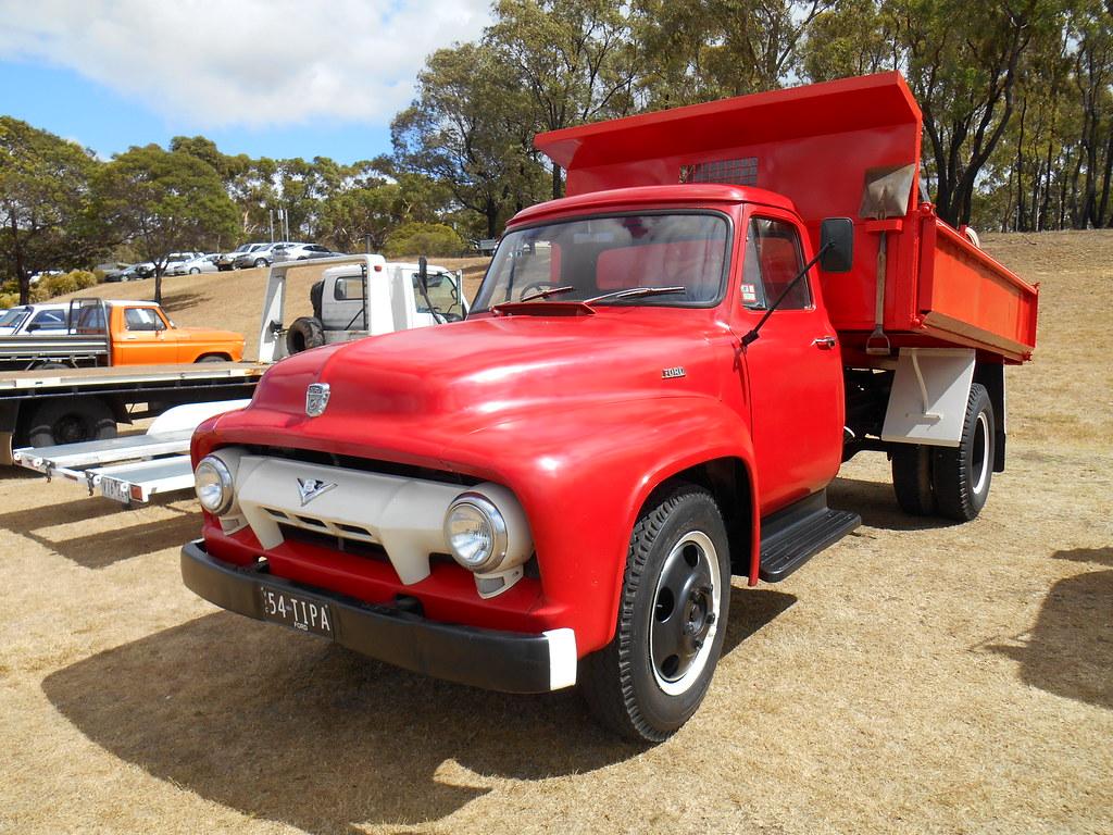 1954 ford f500 tipper truck