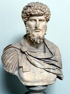 Portrait bust of Lucius Verus as a general