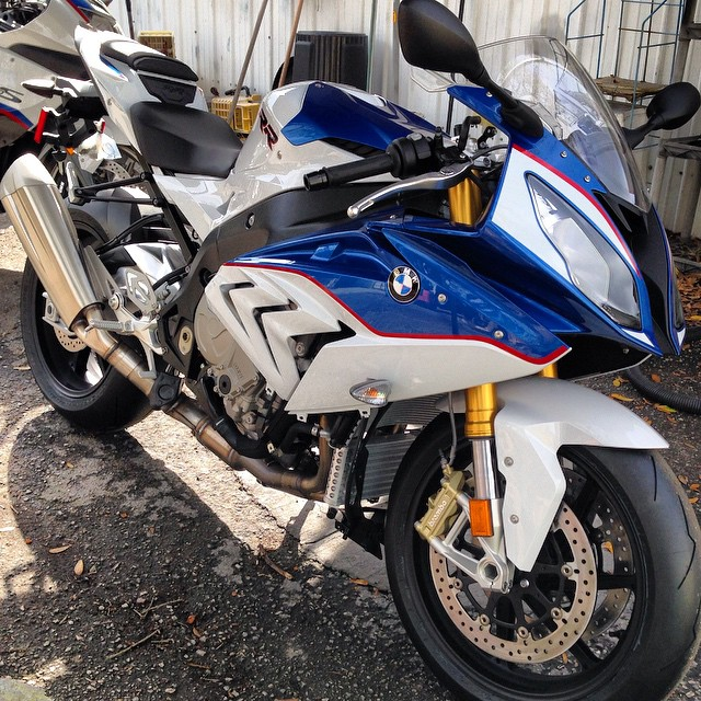 Fresh Out The Box 2015 Bmw S1000rr In Red White Amp Blue