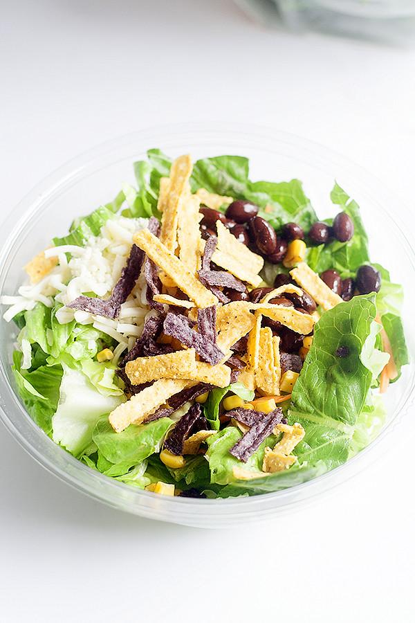 southwest salad @elevAte_foods #elevatesuperfoods #ad