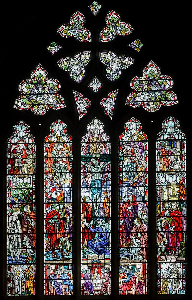 Winchelsea East Sussex St Thomas Church Window