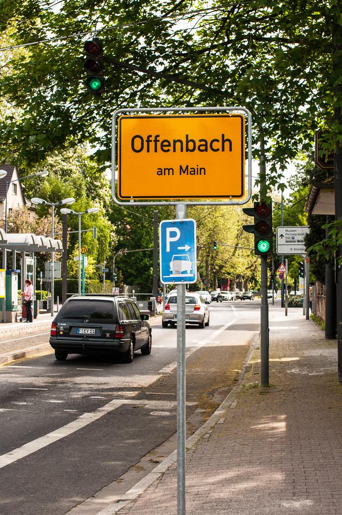 Ortsschild offenbach am main markus tacker flickr for Werbeagentur offenbach am main