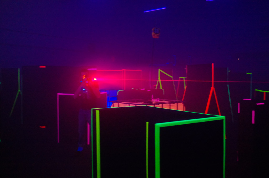 Laser tag sales can improve