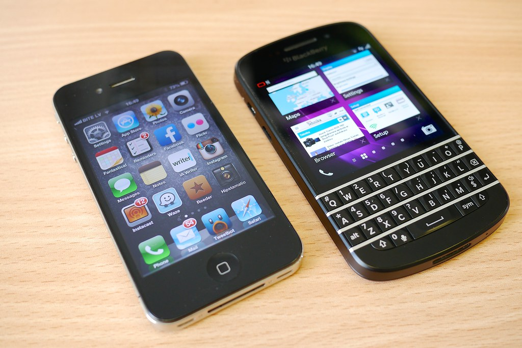 iphone & blackberry