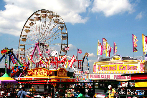 Midway at Maryland State Fair