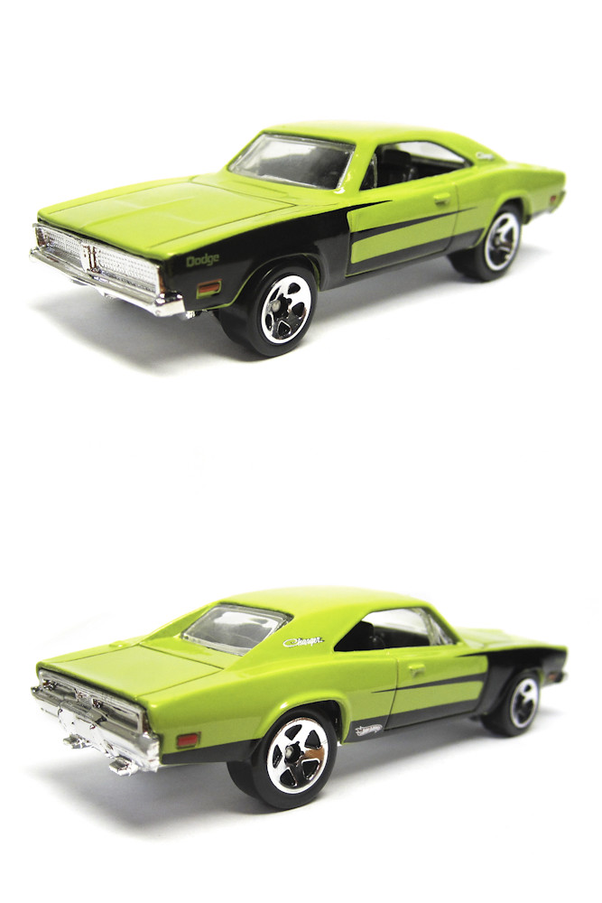 69 Charger: Hot Wheels 2010 '69 Dodge Charger Mopar Mania 5 Pack