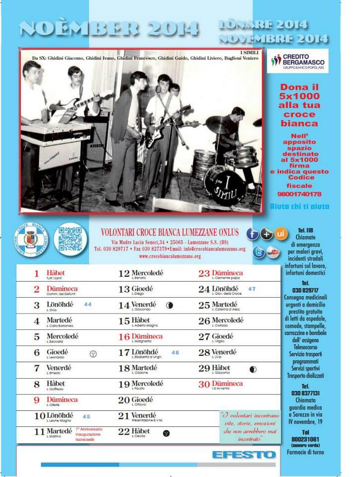 L nare 2014 il calendario dei volontari della croce for Calendario camera dei deputati