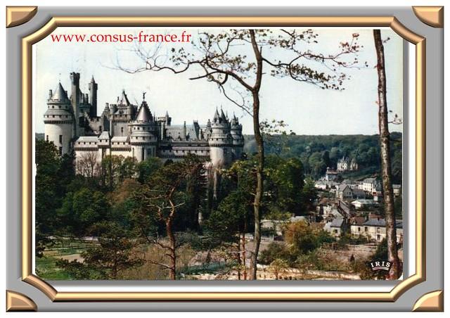 PIERREFONDS (Oise) 3 - Le Château