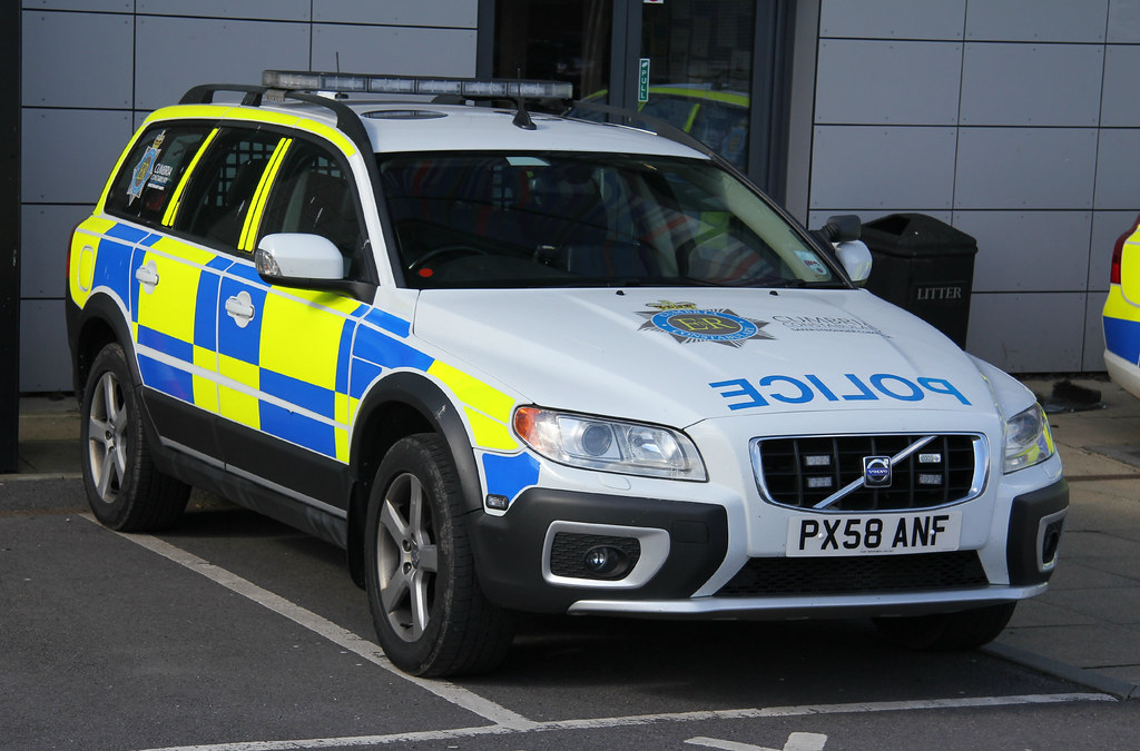 Cumbria Police Volvo Xc70 D5 Roads Policing Unit Traffic C