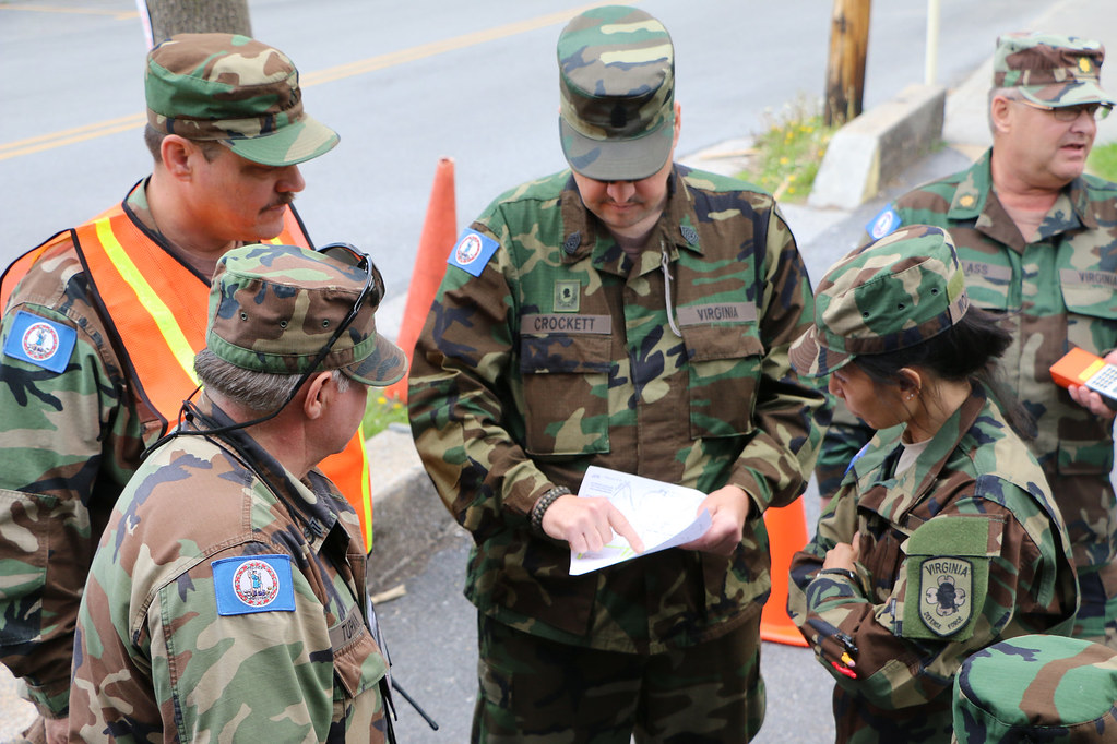 Virginia Defense Force : Va defense force supports apple blossom festival