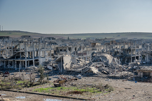 Devastation in Kobane