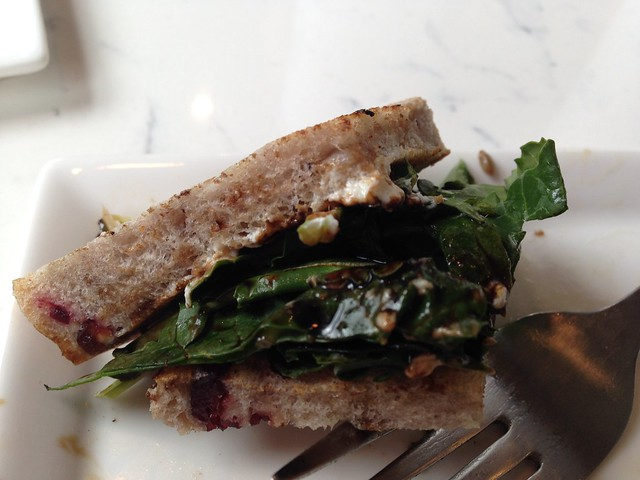 Beet, Fig, Goat Cheese Sandwich, Real & Rosemary, Homewood AL