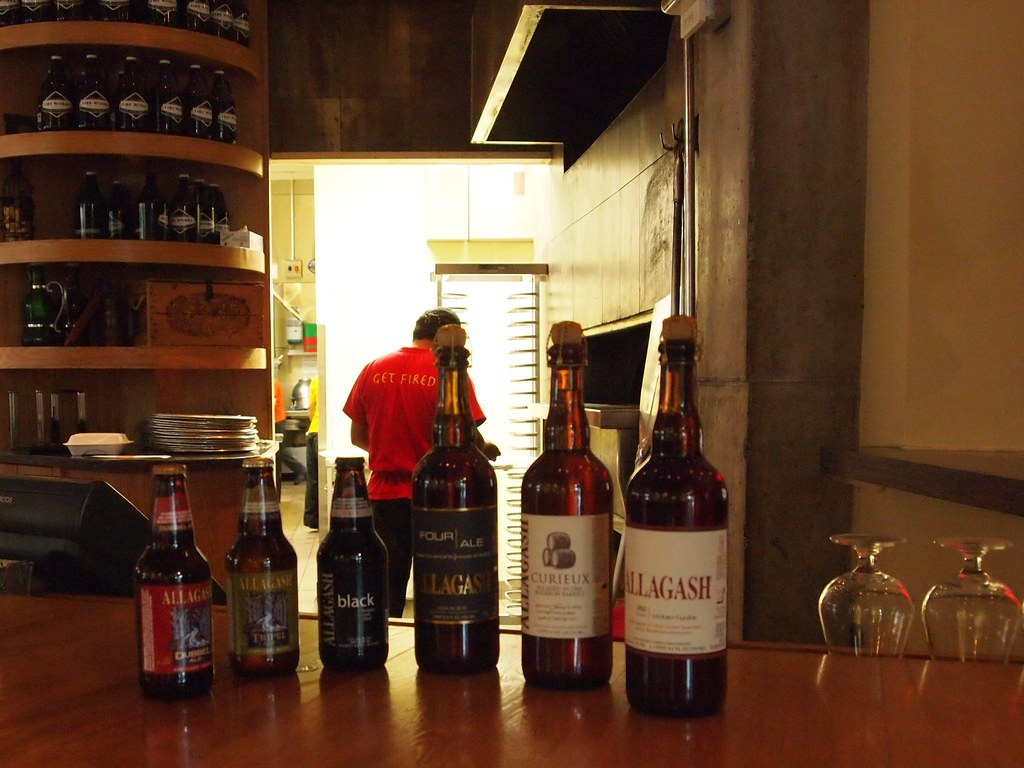 Maine Craft Beer Allagash Brewing Company