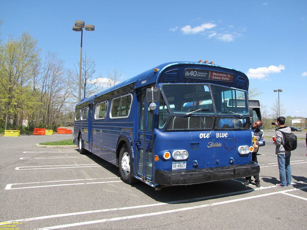 Flxible New Look Quot Ole Blue Quot Classic Bus Owners