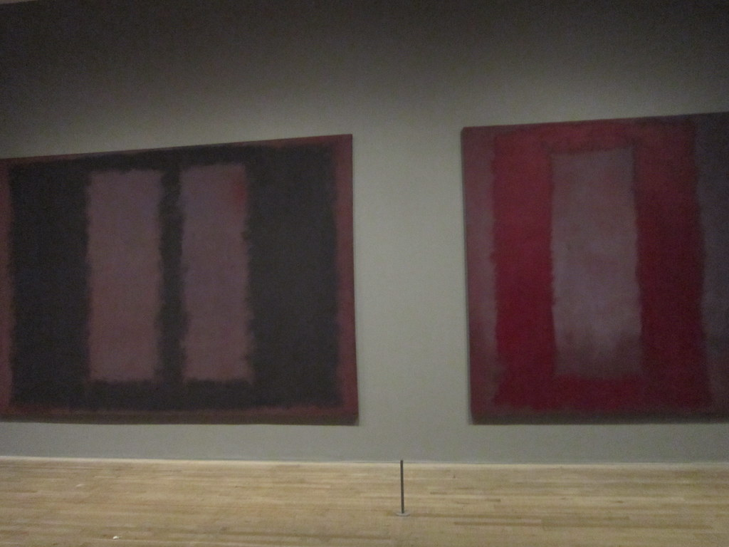 tate modern mark rothko black on maroon red on mar. Black Bedroom Furniture Sets. Home Design Ideas