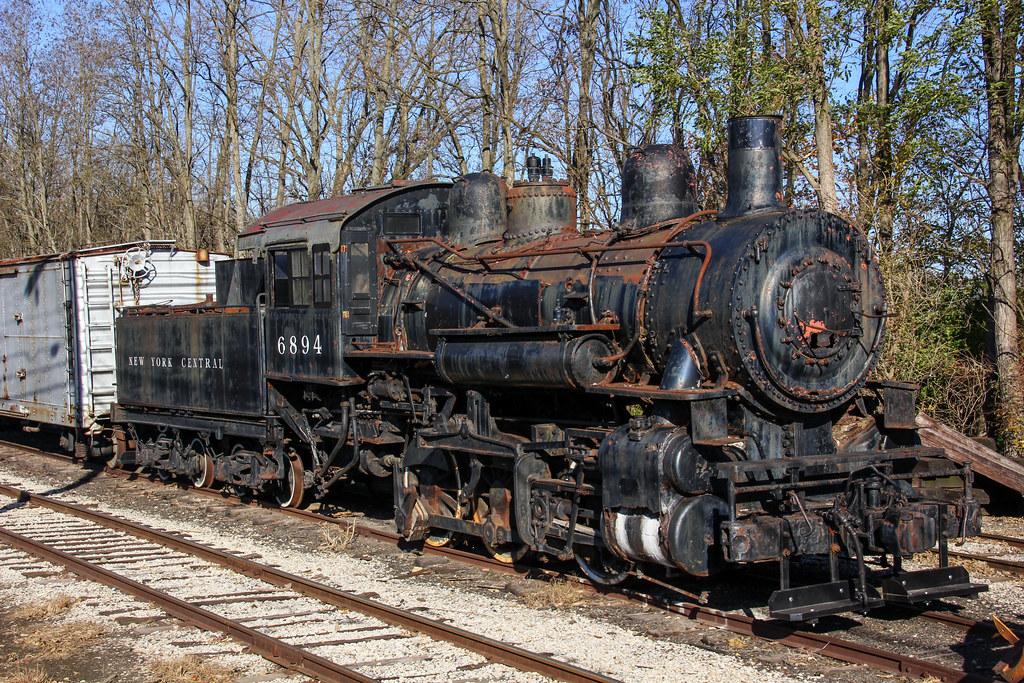 New York Central 6894 Steam Locomotive Connersville