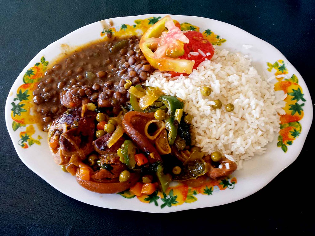 Creole food on panama 39 s caribbean coast rice with for Authentic cajun cuisine