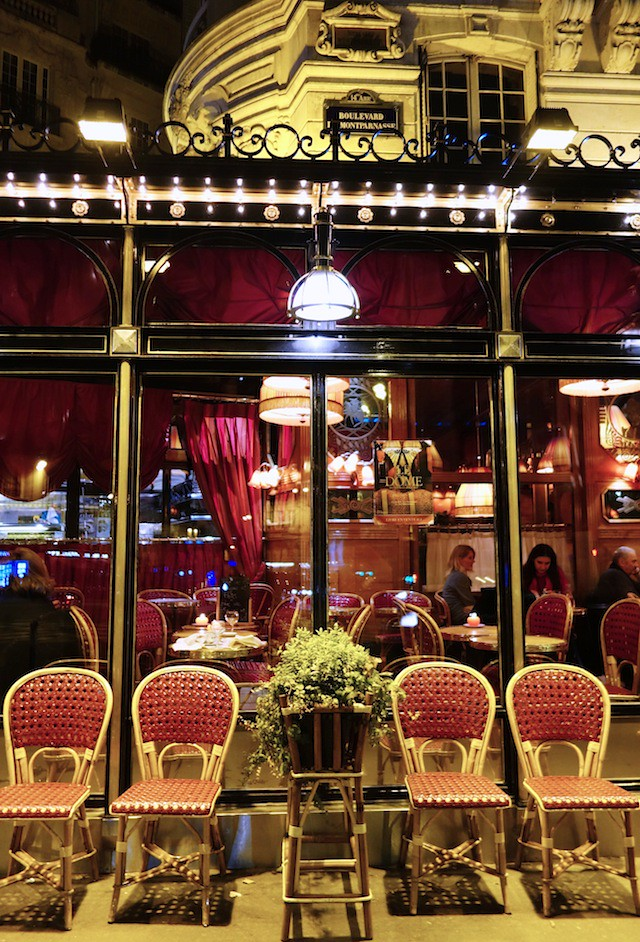 le dome cafe paris montparnasse outside seating currystrumpet flickr. Black Bedroom Furniture Sets. Home Design Ideas