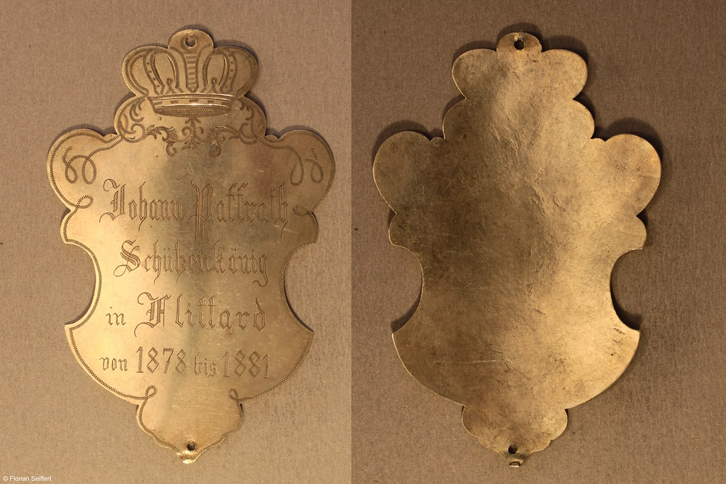 Koenigsschild Flittard von paffrath johann aus dem Jahr 1878