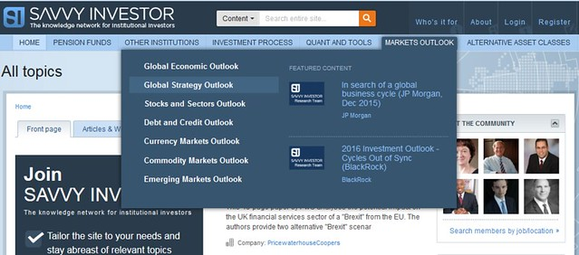 Savvy-Investor-investment-strategy-outlook-screenshot