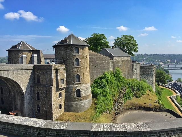 Ciudadela de Namur (Valonia, Bélgica)