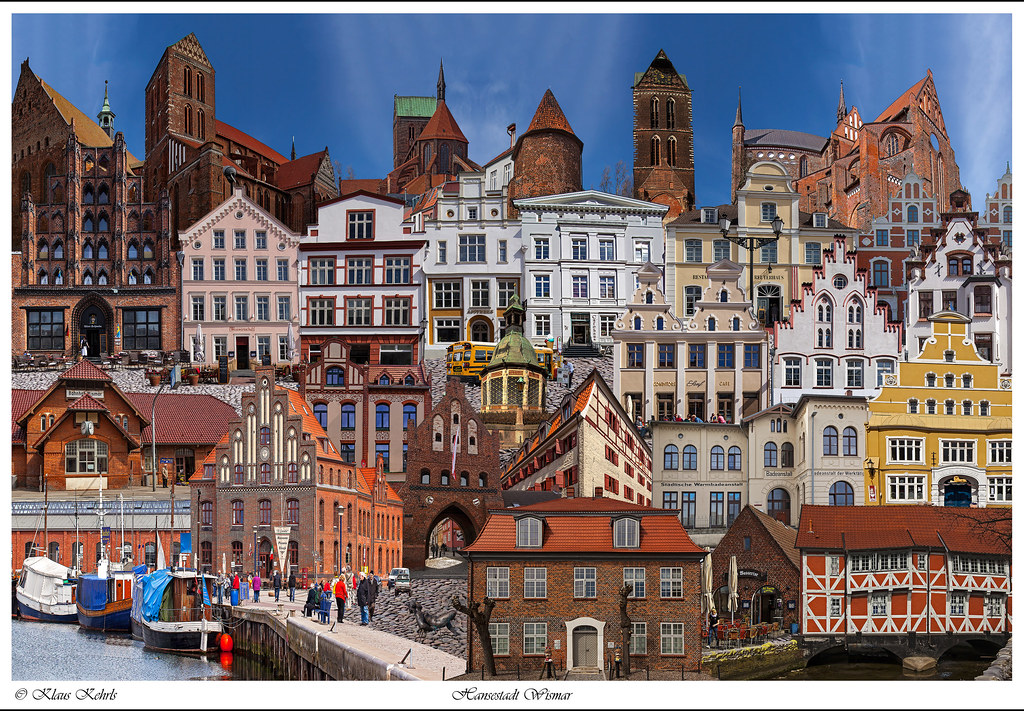 Collage Wismar | Wismar Germany | Klaus Kehrls | Flickr