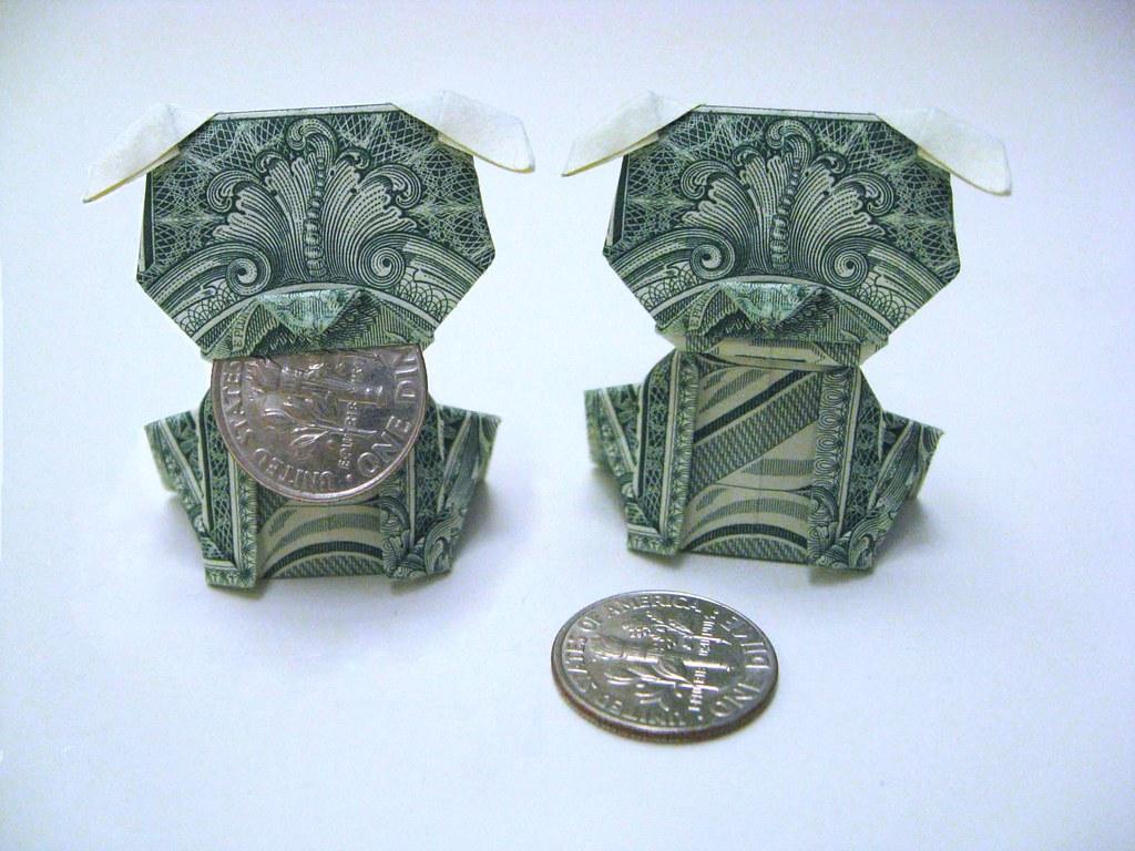 Dollar bill dog | Design: Jo Nakashima Link: www.youtube ... - photo#50
