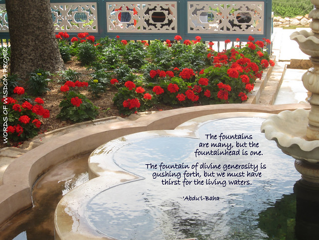 Ridvan garden words of wisdom project flickr photo sharing