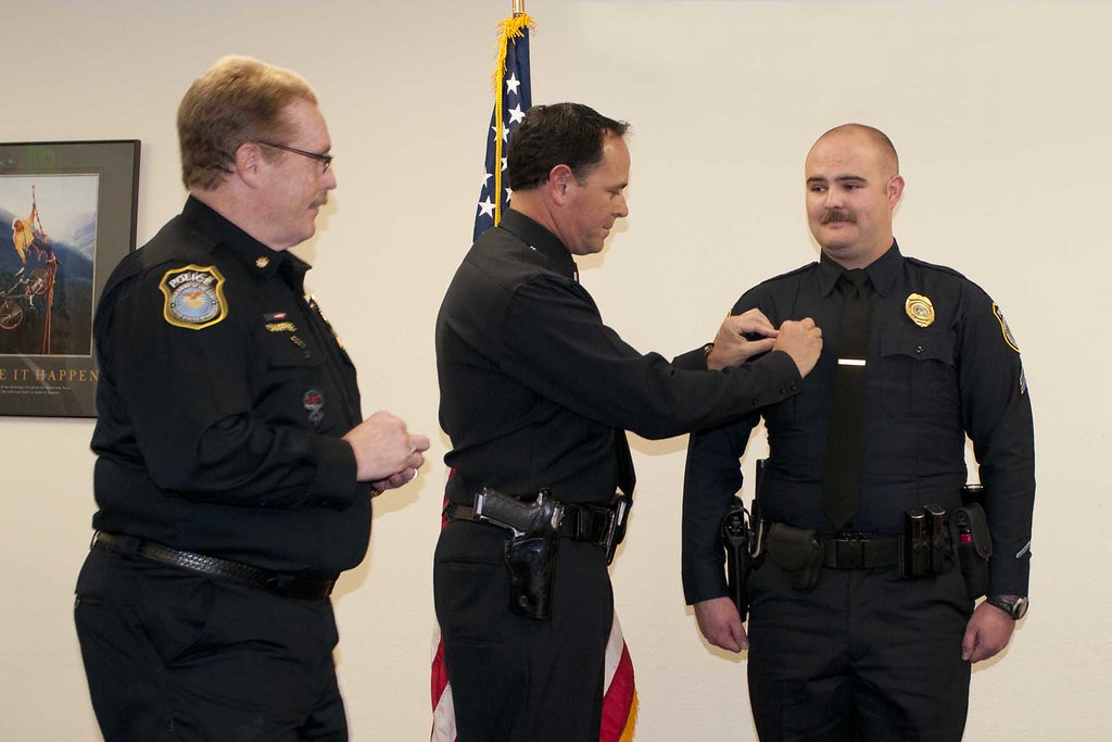 Presidio Of Monterey Police Department Promotion Ceremony