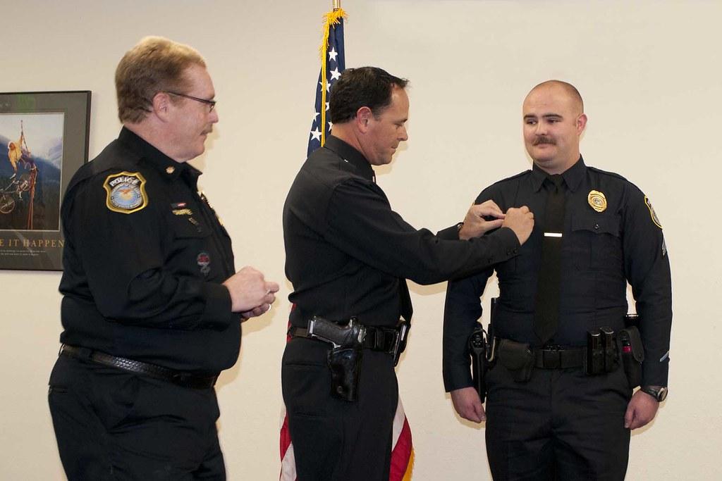 Presidio Of Monterey Police Department Promotion Ceremony