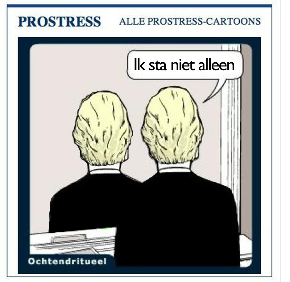 Geert Wilders cartoon