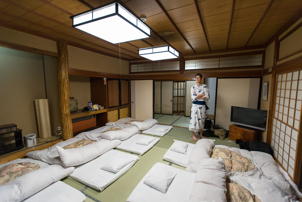 Traditional Ryokan Room With Tatami Mats Japan Tatami