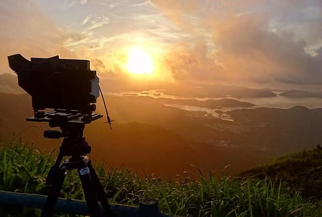 Nikon 4×5 大底鏡 獅子會荷花試拍