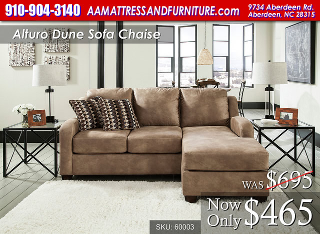 Alturo Dune Sofa Chaise WM