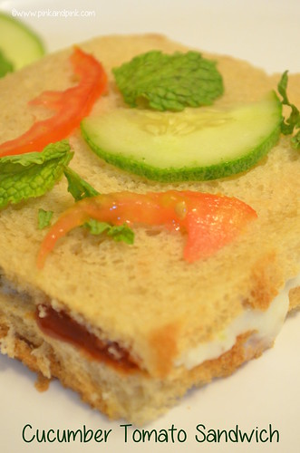 how to make tomato sandwich for diet