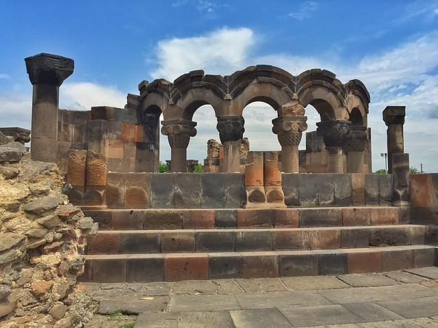 Ruinas de Zvartnots (Armenia)