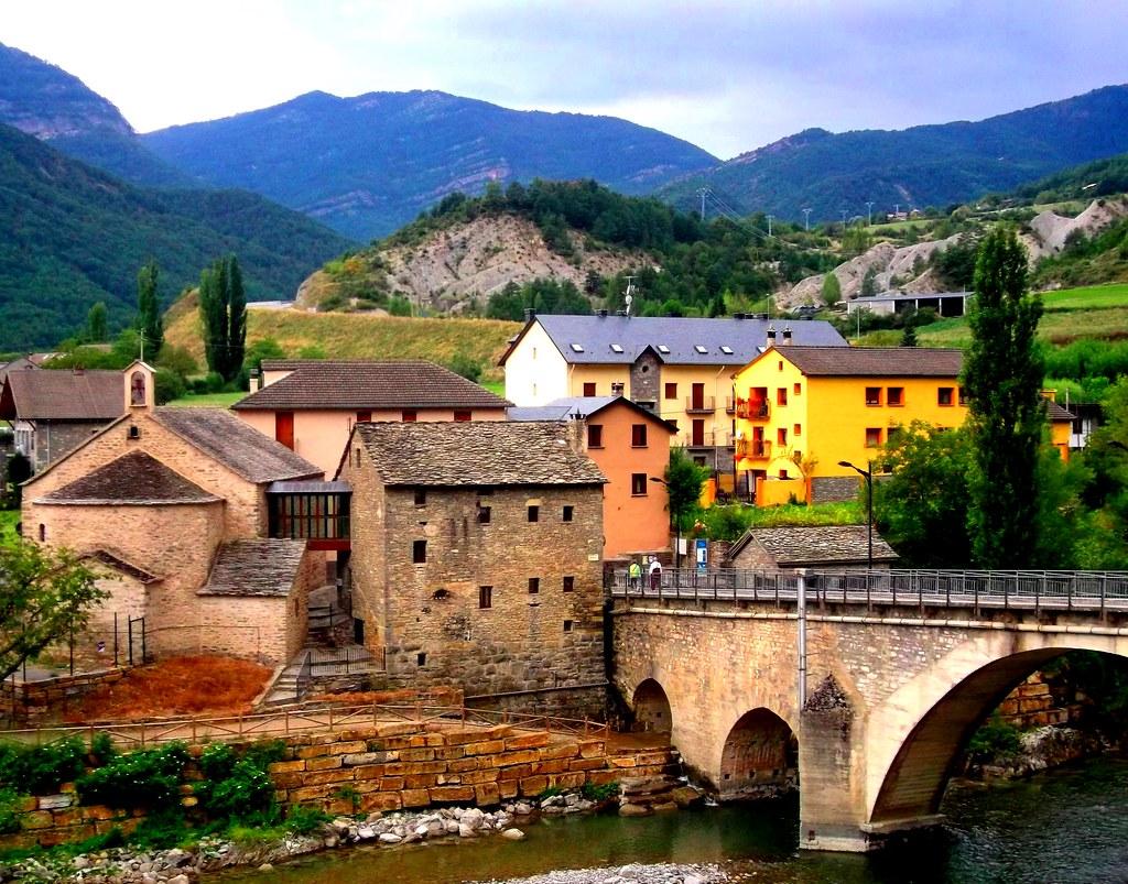 Fiscal Bridge Pyrenees Dailyshoot Spain  Part Of A Set -9390