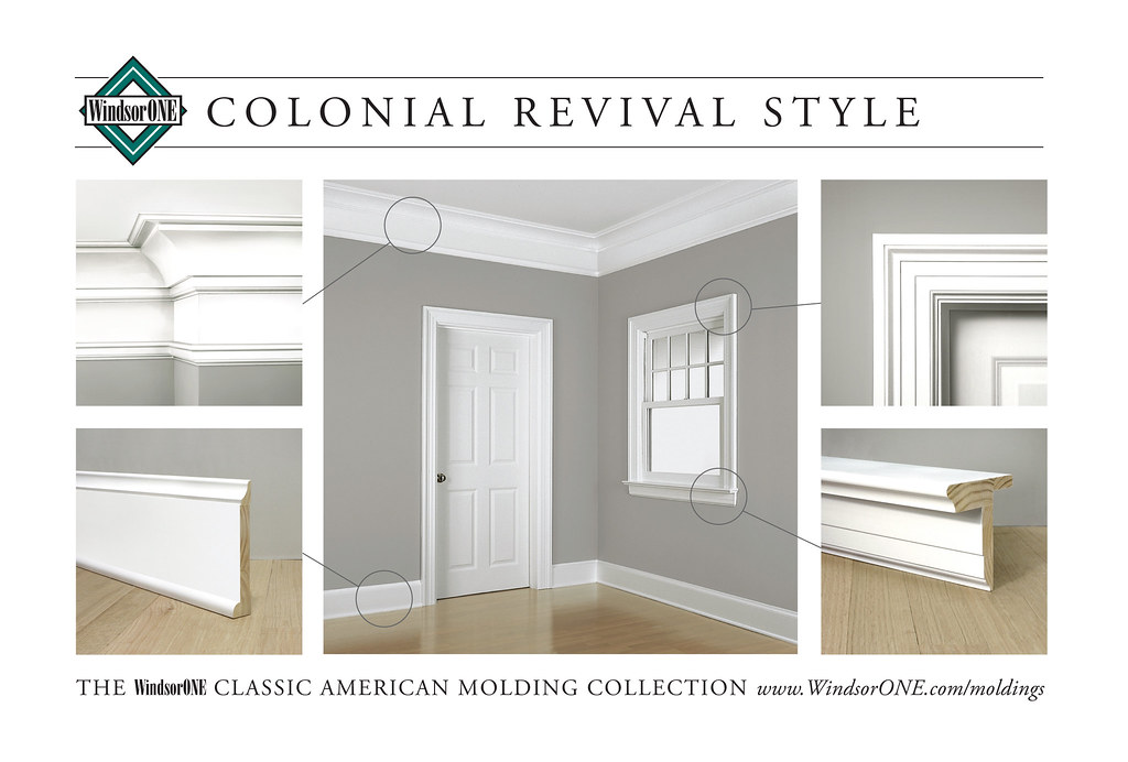 Colonial Revival Molding Room 1 Historically Accurate
