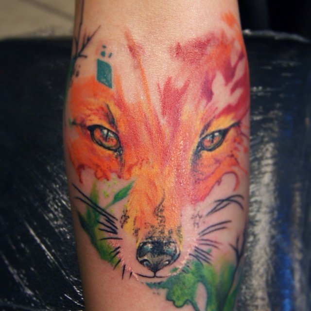 Color Nature Tattoo