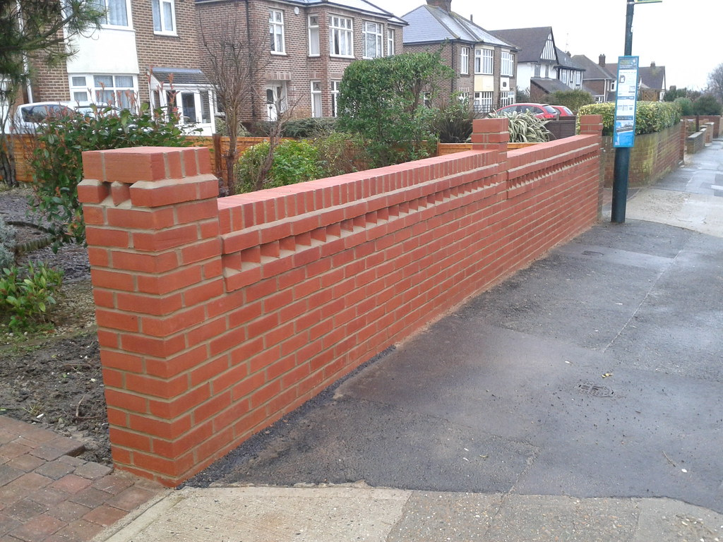 Build A Brick Wall With Piers