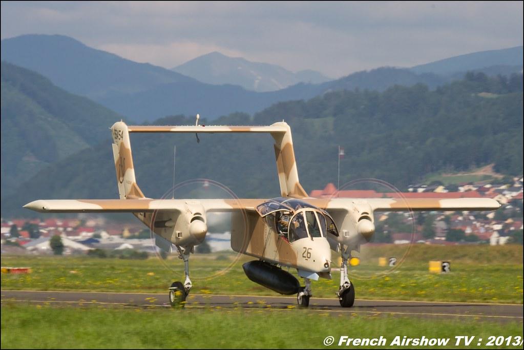 OV-10 Bronco Montelimar , North American Rockwel OV-10 Bronco F-AZKM, Airpower 2013 , Zeltweg Austria Airshow, Airpower13, Meeting Aerien 2015