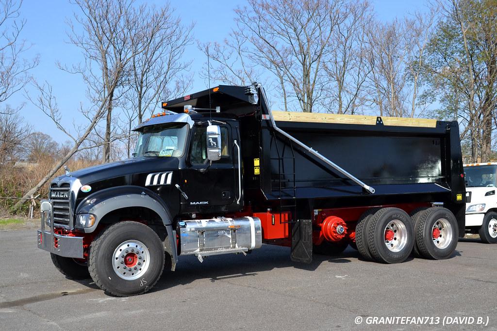 2 Axle Truck : Mack gu tri axle dump truck trucks buses