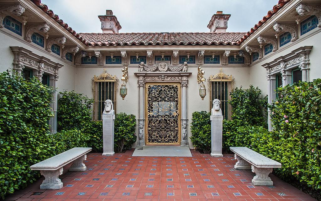 Hearst castle casa del mar san simeon california 4 1 for Casas jardin del mar
