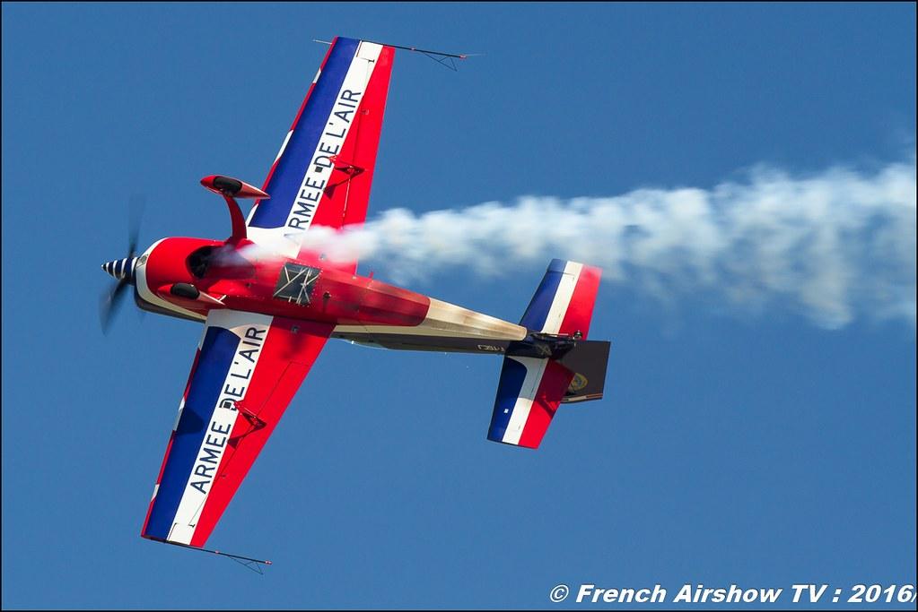 Equipe de Voltige de l'Armée de l'Air 2016 , Capitaine Orlowski , BA-701 Salon de Provence , Meeting Aerien 2016