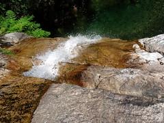 La cascade à franchir avant celle de la Frassiccia