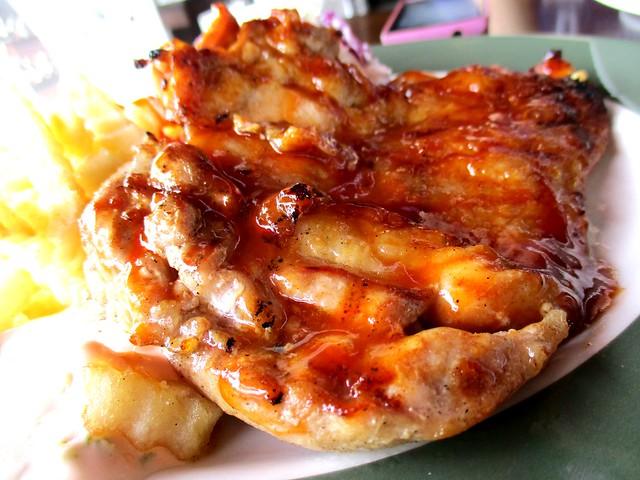 Bistecca & Bistro BBQ chicken chop