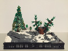 Snow-Covered Mountain Landscape by dawson.jones