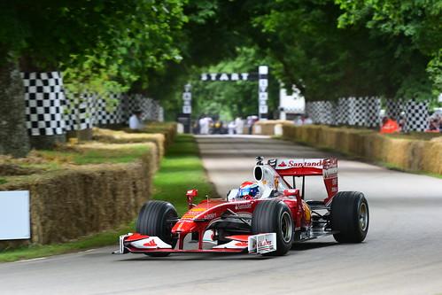 Marc Gene, Ferrari F10, Goodwood Festival of Speed 2016