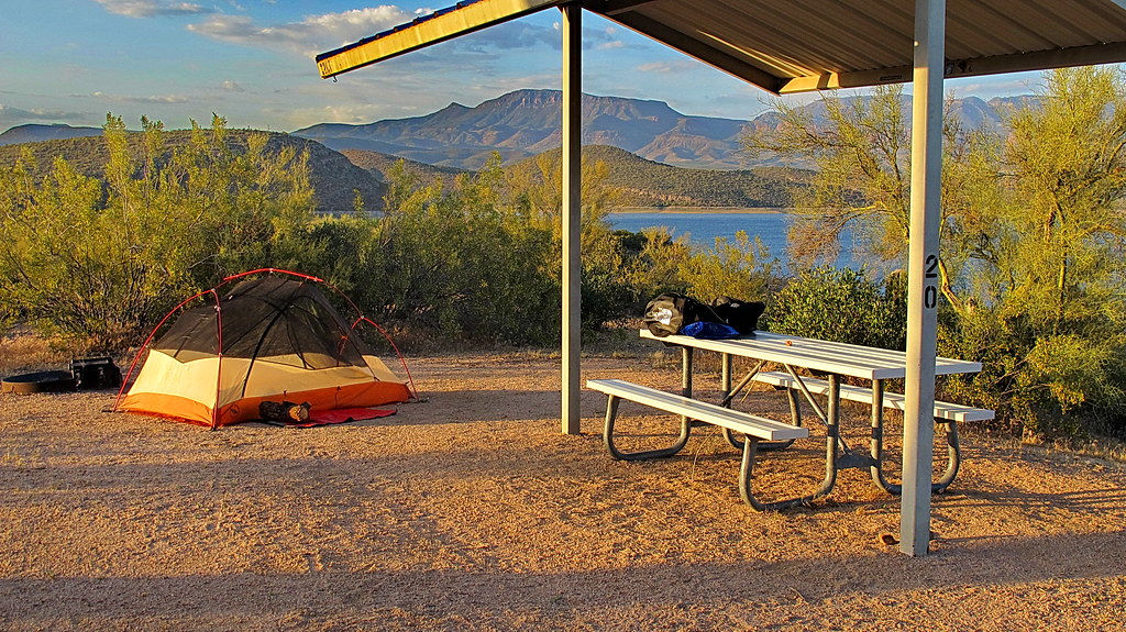 Roosevelt Lake Windy Hill Campground Campsite 20 Flickr